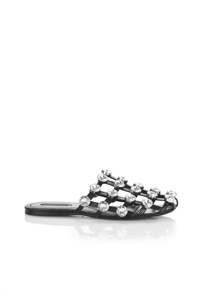 ALEXANDER WANG new-arrivals-shoes-woman AMELIA SANDAL WITH GLASS STONES