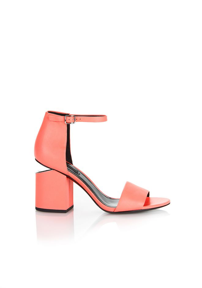 ALEXANDER WANG new-arrivals-shoes-woman ABBY SANDAL WITH RHODIUM