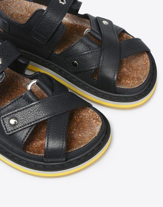 MAISON MARGIELA Calfskin sport sandals Sandals D a