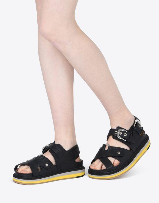 MAISON MARGIELA Calfskin sport sandals Sandals D b