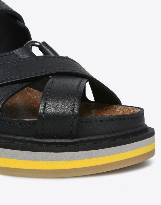MAISON MARGIELA Calfskin sport sandals Sandals D e