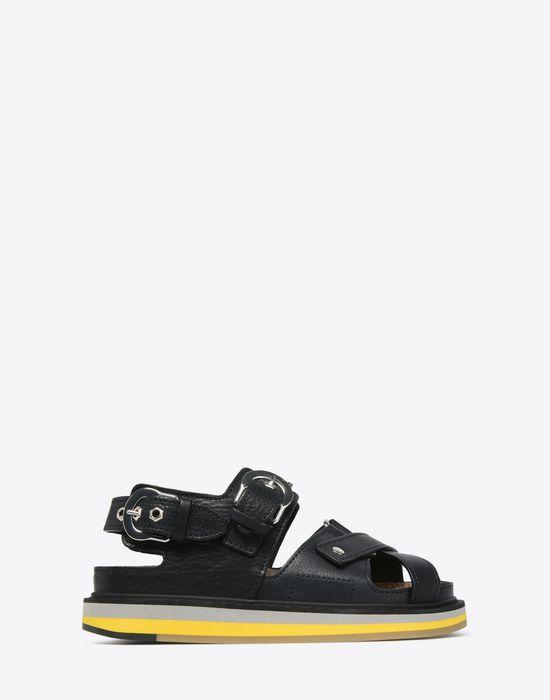 MAISON MARGIELA Calfskin sport sandals Sandals D f