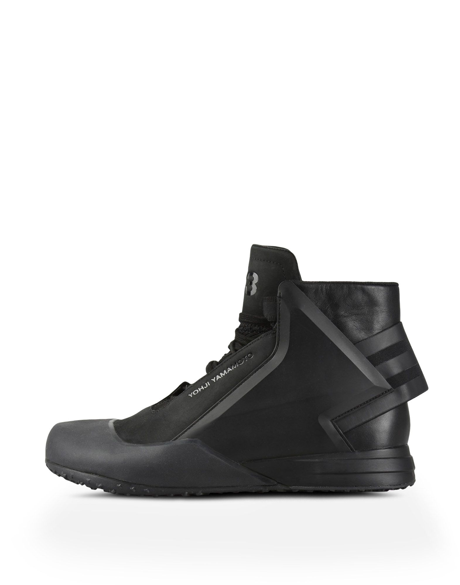 3c9f1307afbff ... Y-3 Y-3 BBALL TECH High-top sneakers Man f ...