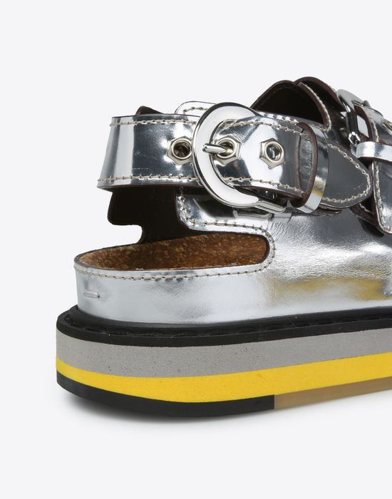 MAISON MARGIELA Metallic sport sandals Sandals D a