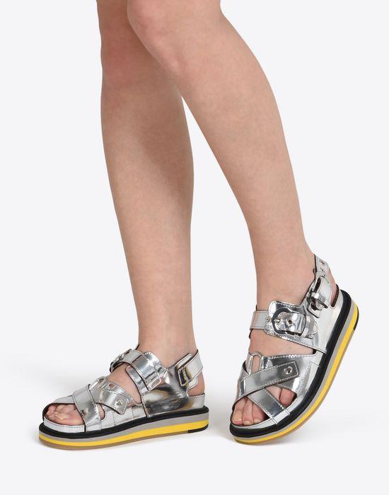 MAISON MARGIELA Metallic sport sandals Sandals D b