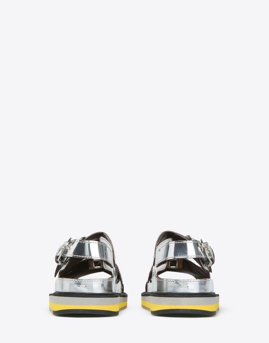 MAISON MARGIELA Metallic sport sandals Sandals D d