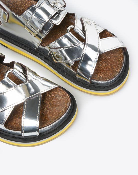 MAISON MARGIELA Metallic sport sandals Sandals D e