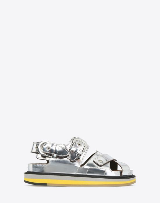 MAISON MARGIELA Metallic sport sandals Sandals D f