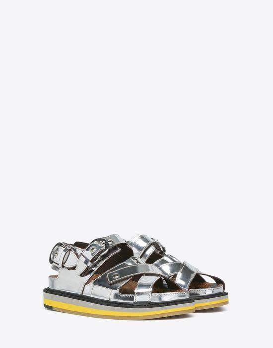 MAISON MARGIELA Metallic sport sandals Sandals D r