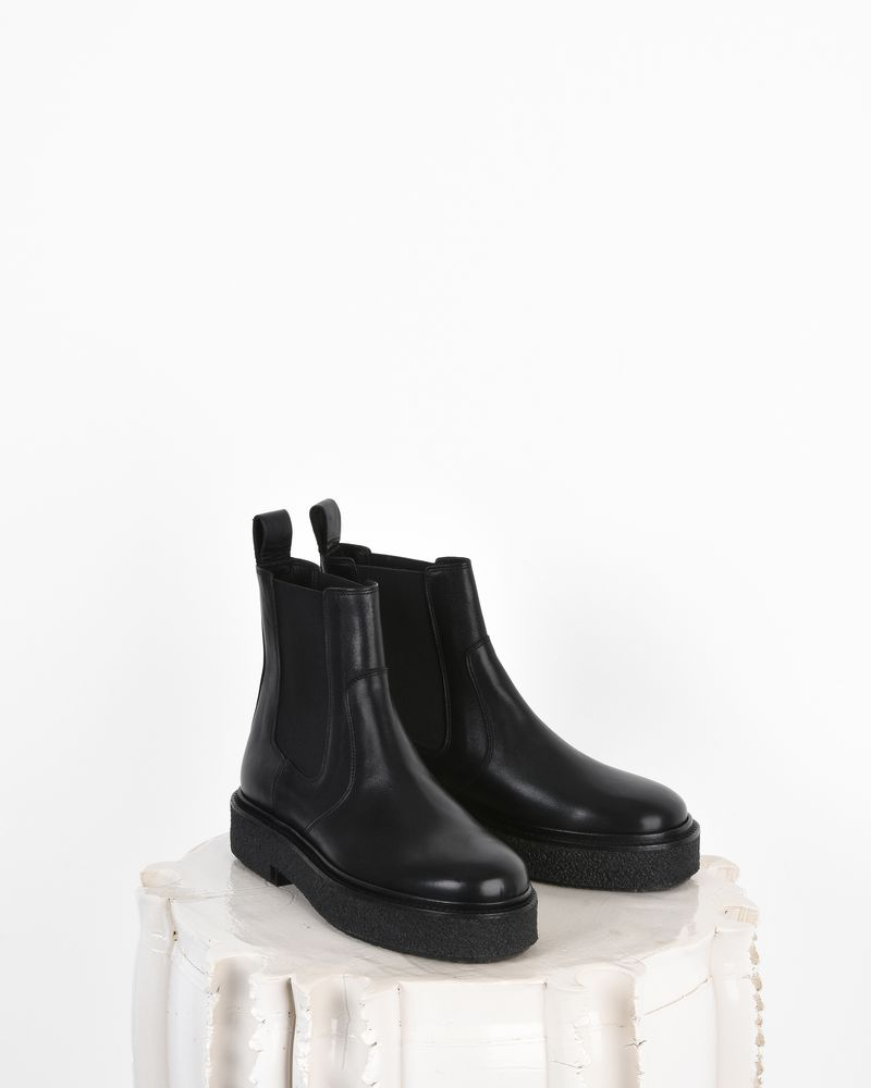 Celton Leather platform chelsea boots ISABEL MARANT
