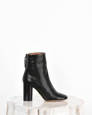 Garett 皮革高跟踝靴