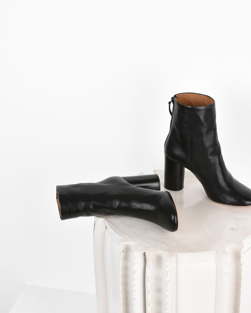 Garett Leather high heel ankle boots ISABEL MARANT