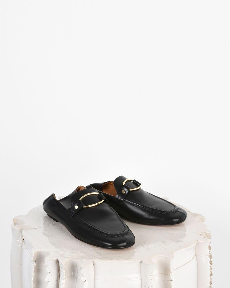 Ferlyn 光滑植物鞣制皮革乐福鞋 ISABEL MARANT
