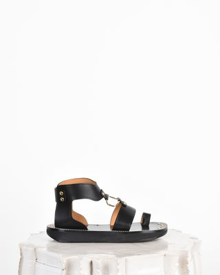 Nindle Smooth leather sandals