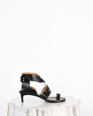 Teony Smooth leather heeled sandals