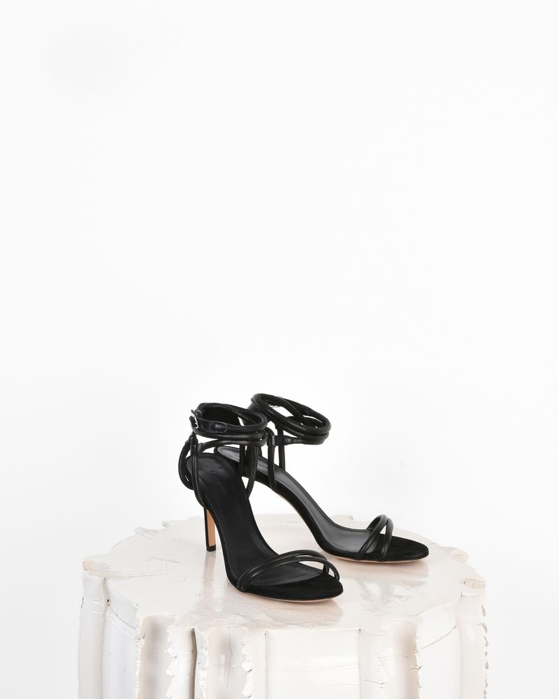 Aoda Smooth leather high heel sandals ISABEL MARANT