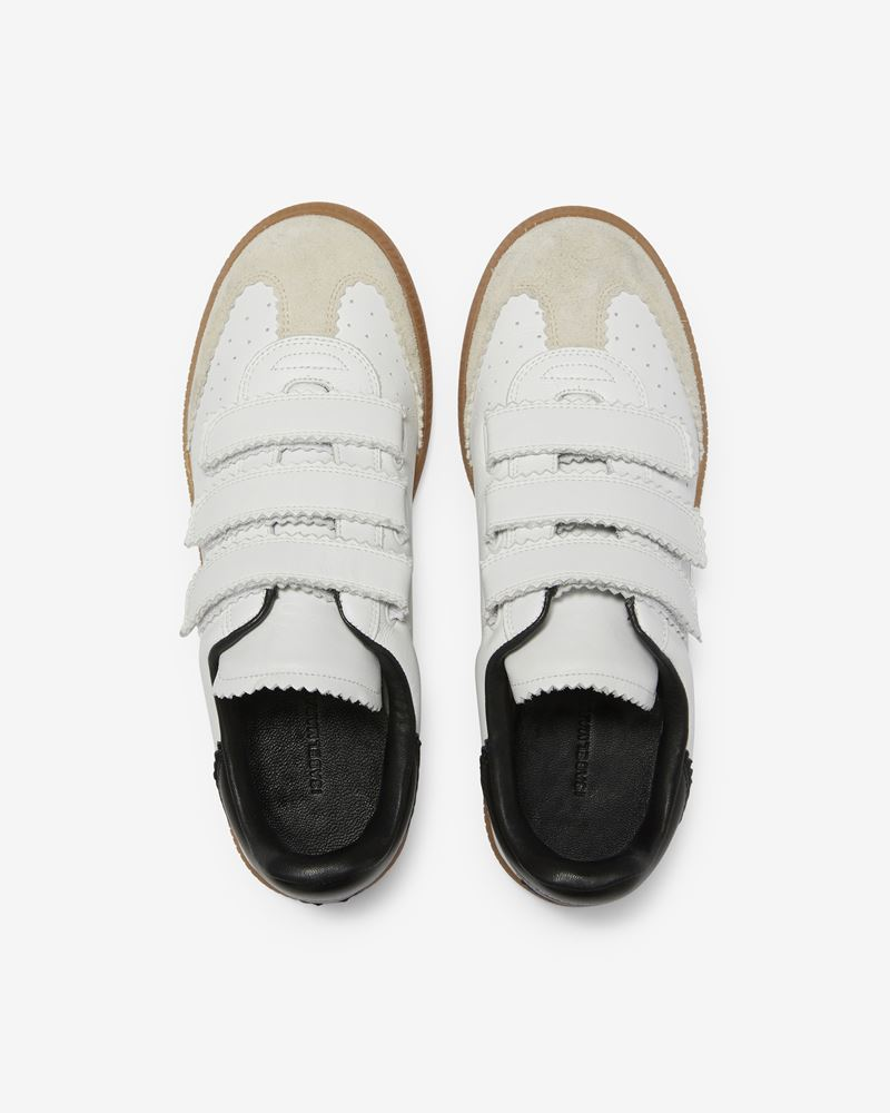 Beth Suede and leather Velcro sneakers ISABEL MARANT