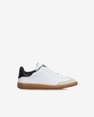Bryce Leather and suede lace up sneakers