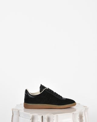 Bryce Suede and leather lace up sneakers
