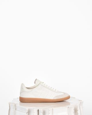 Bryce Suede and leather lace up trainers
