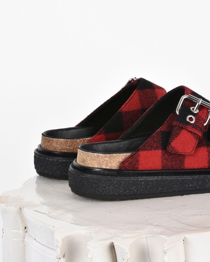 Ledkin 羊毛双袢带平底凉鞋  ISABEL MARANT