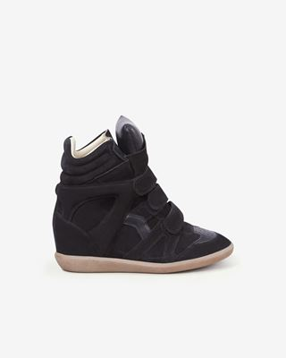 ISABEL MARANT SNEAKERS Woman BEKETT wedge sneakers d
