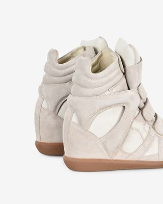 ISABEL MARANT SNEAKERS Woman BEKETT wedge trainers d
