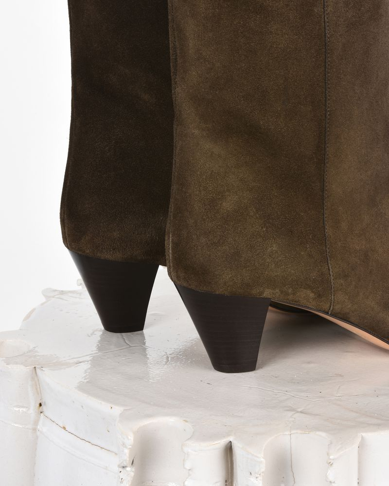 Dyna 绒面革中跟踝靴 ISABEL MARANT