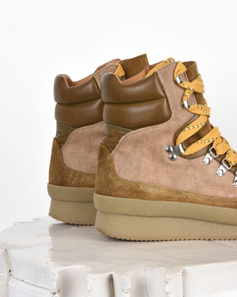 Brendty High top lace up sneakers  ISABEL MARANT