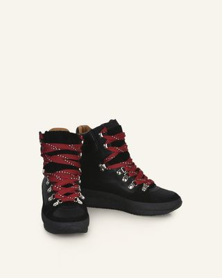 Brendty High top lace up sneakers
