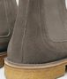 voortrekking boot in steel suede Front Detail Portrait