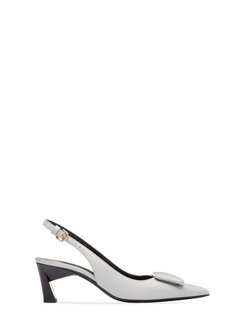 Marni Sandal in calfskin with button Woman