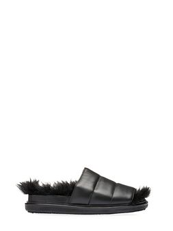 Marni Strap Fussbett in nappa leather Woman