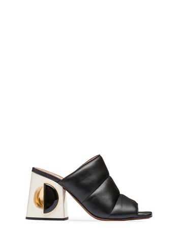 Marni Mule sandal in nappa leather Woman
