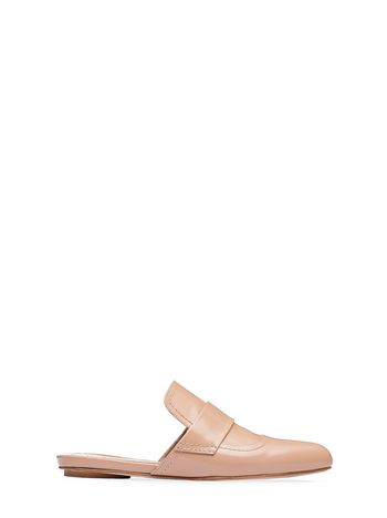 Marni Slipper in calfskin with satin heel Woman