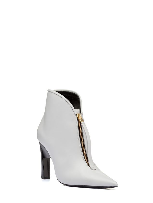 Marni Pointed bootie in calfskin Woman - 2