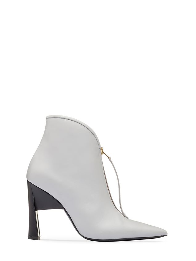 Marni Pointed bootie in calfskin Woman - 1