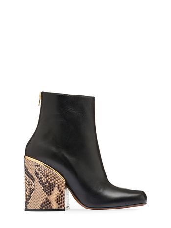 Marni Ankle boot in nappa ayers heel Woman