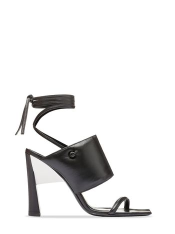 Marni Black sandal with laces Woman