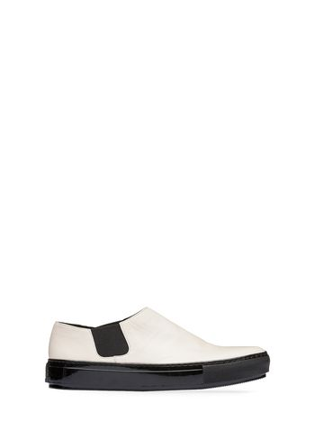 Marni Laceless sneaker in nappa leather Woman