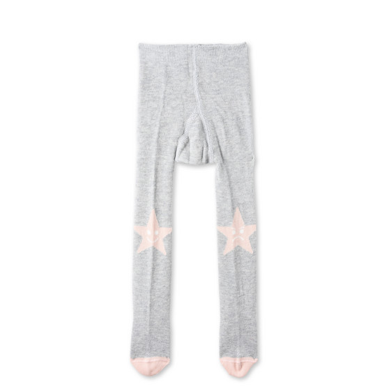Sweet Pea Grey Star Tights