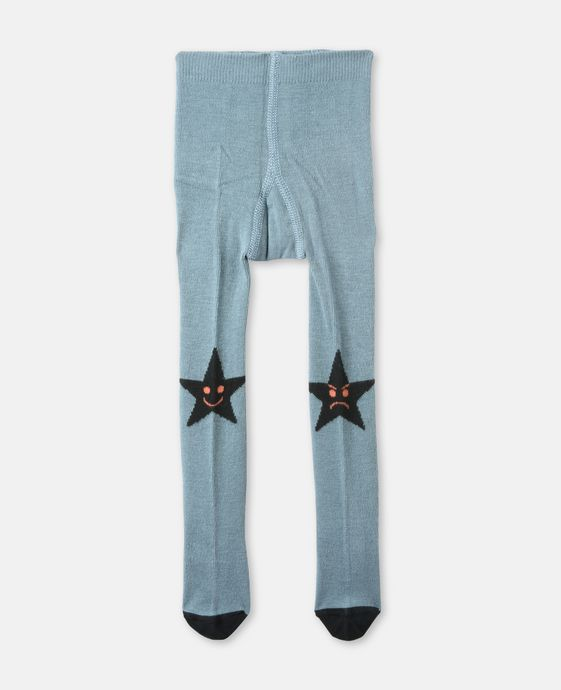 Sweet Pea Blue Star Tights
