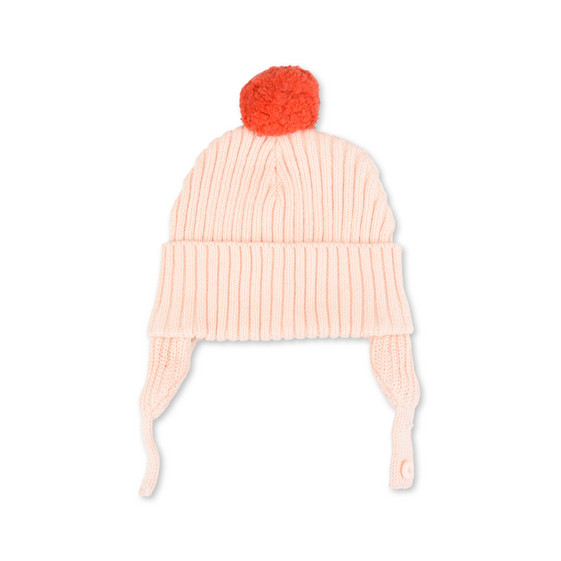 Sherry Pink Pom-Pom Hat