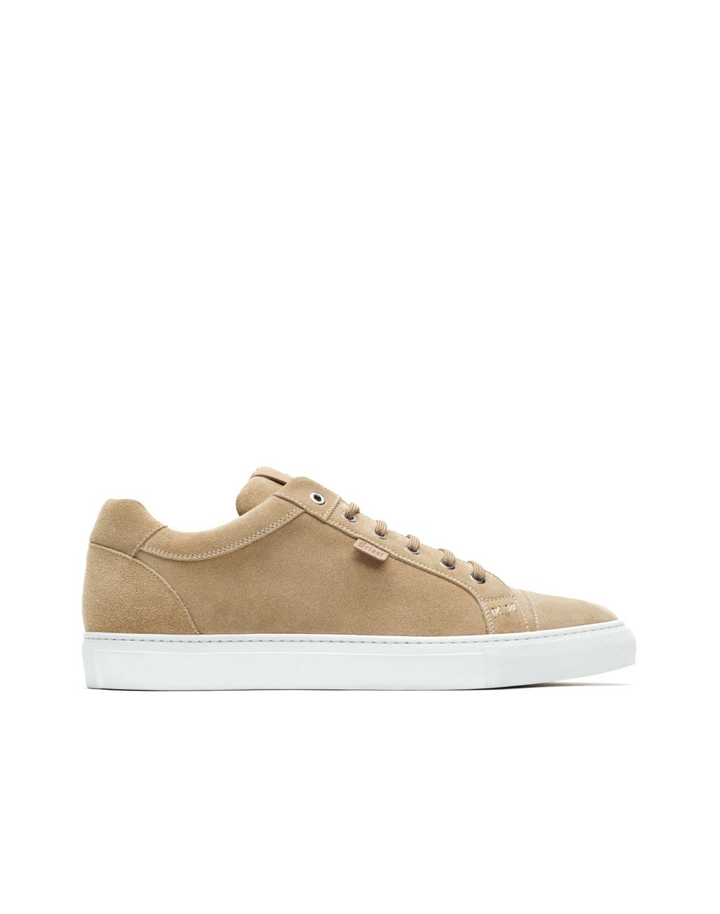 BRIONI Beige Suede Sneakers Sneakers [*** pickupInStoreShippingNotGuaranteed_info ***] f