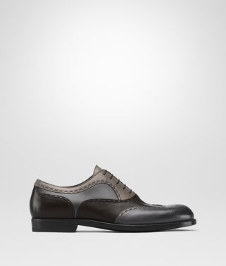 NOTTINGHAM LACE UP IN ARDOISE ESPRESSO STEEL CALF