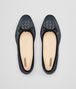 BOTTEGA VENETA DENIM NAPPA LEATHER PICNIC BALLERINA Flat Woman ep