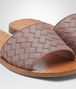 BOTTEGA VENETA RAVELLO SANDAL IN DESERT ROSE INTRECCIATO NAPPA Pump or Sandal D ap