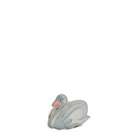 Petit sac cygne bleu