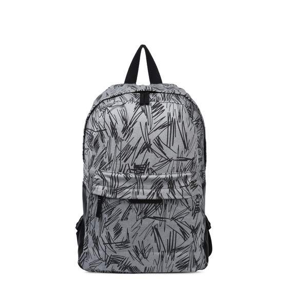 Bang Grey Scribble Backpack