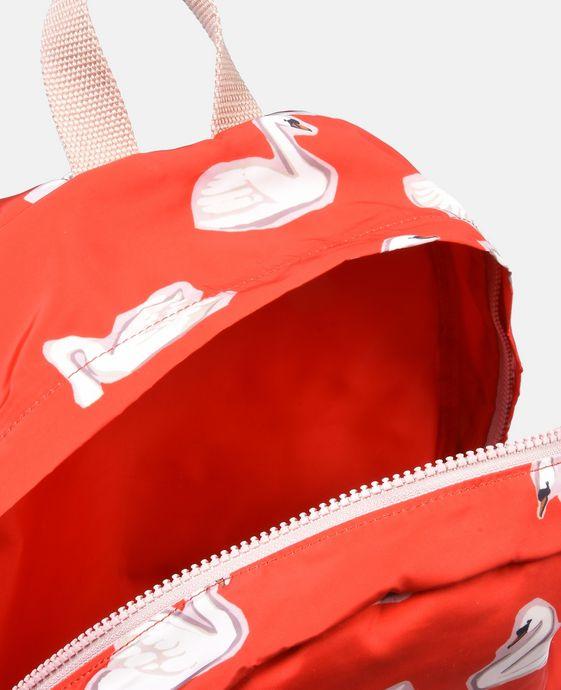 STELLA McCARTNEY KIDS Sac à dos Bang rouge au motif cygnes Chaussures & Accessoires D g